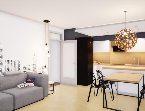 Notranja oprema stanovanja MP v Ljubljani