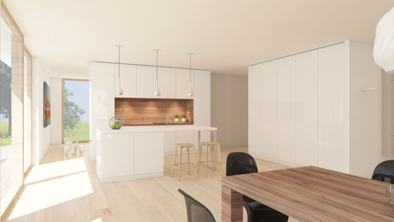 notranja oprema stanovanjske hiše