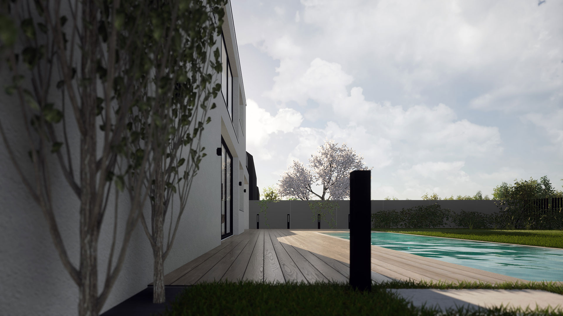 Stanovanjska hiša SSM - pogled