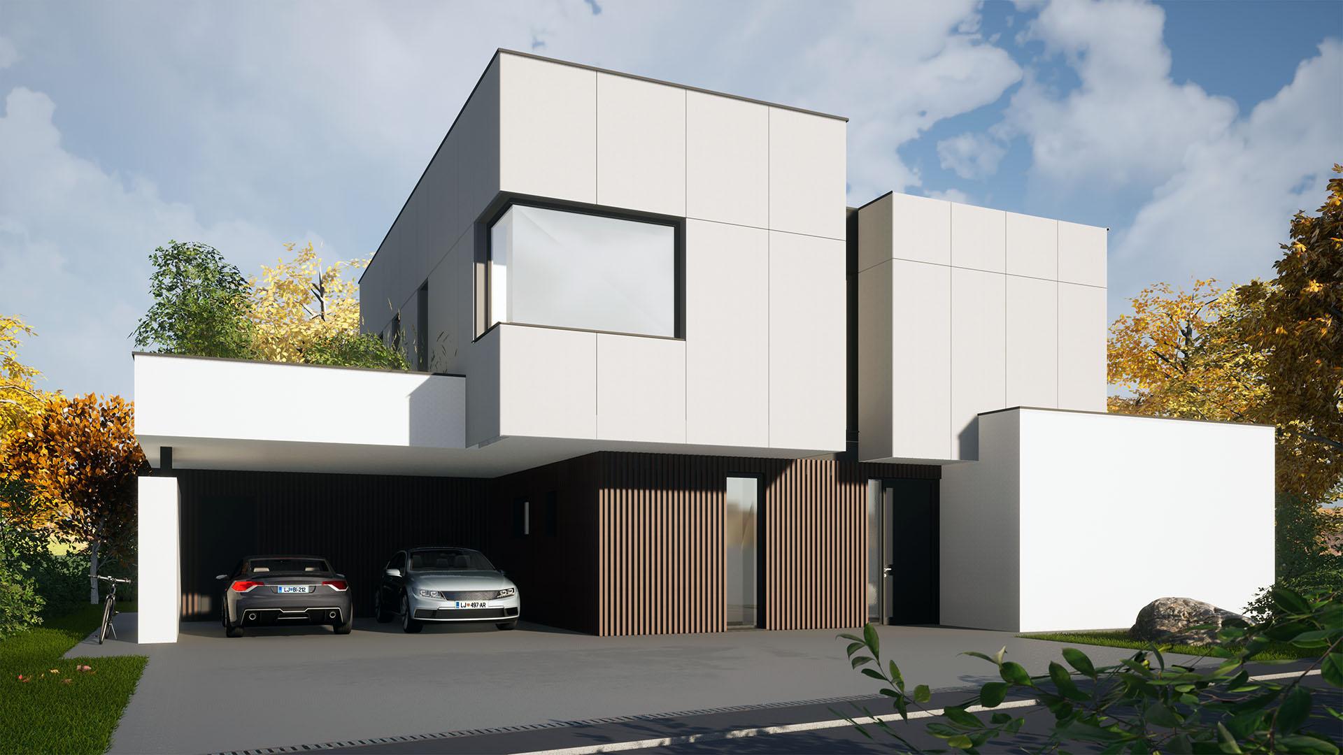 Stanovanjska hiša HD Domžale